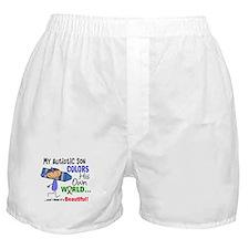 Colors Own World Autism Boxer Shorts