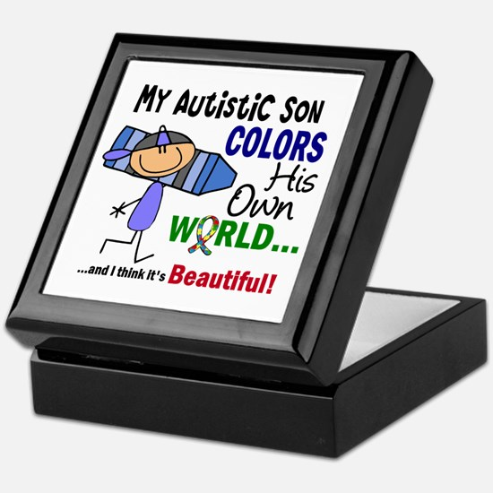 Colors Own World Autism Keepsake Box