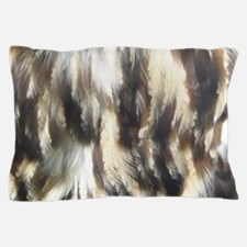 Owl Feather Pillow Case