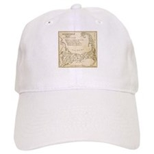 Old Baseball Baseball Cape Cod Map Baseball Baseball Cap