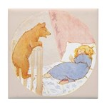 Tarrant's Goldilocks Tile Coaster