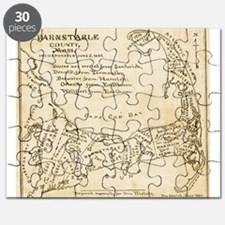 Old Cape Cod Map Puzzle