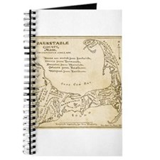 Old Cape Cod Map Journal