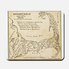 Old Cape Cod Map Mousepad