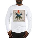Davinci's Gnome Long Sleeve T-Shirt