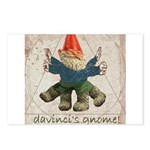 Davinci's Gnome Postcards (Package of 8)