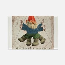 Davinci's Gnome Rectangle Magnet