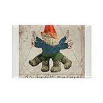 Davinci's Gnome Rectangle Magnet (10 pack)
