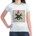 Davinci's Gnome Jr. Ringer T-Shirt