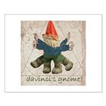 Davinci's Gnome Small Poster