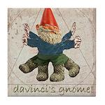 Davinci's Gnome Tile Coaster