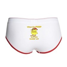 Tough Easter Chick Women's Boy Brief