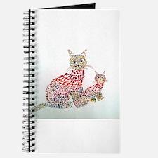 Cute Tiger horse Journal