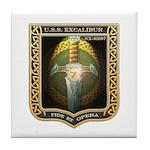 USS Excalibur (R1) Tile Coaster
