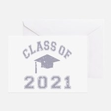 Class Of 2021 Graduation Greeting Card