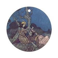 Dulac's Beauty & Beast Ornament (Round)