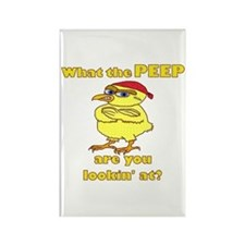 Tough Easter Chick Rectangle Magnet