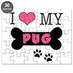 I Love My Pug Puzzle