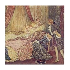 Dulac's Sleeping Beauty Tile Coaster
