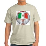 Mexico Soccer Ash Grey T-Shirt