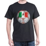 Mexico Soccer Black T-Shirt
