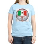 Mexico Soccer Women's Pink T-Shirt