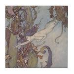Dulac's Little Mermaid Tile Coaster