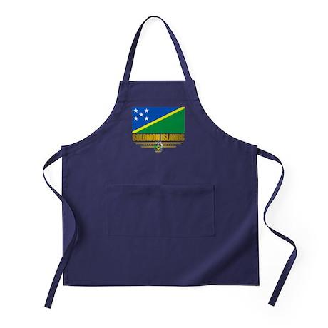 """Solomon Islands Flag"" Apron (dark)"