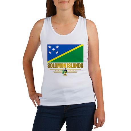 """Solomon Islands Flag"" Women's Tank Top"