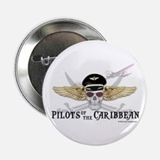 "Pilots of the Caribbean 2.25"" Button (10 pack)"