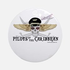 Pilots of the Caribbean Ornament (Round)