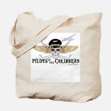 Pilots of the Caribbean Tote Bag