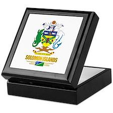 """""""Solomon Islands COA"""" Keepsake Box"""