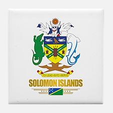 """Solomon Islands COA"" Tile Coaster"