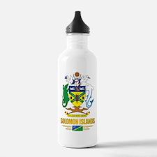 """""""Solomon Islands COA"""" Water Bottle"""