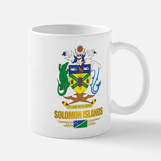 """""""Solomon Islands COA"""" Mug"""