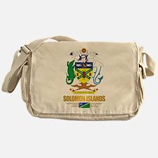 """""""Solomon Islands COA"""" Messenger Bag"""