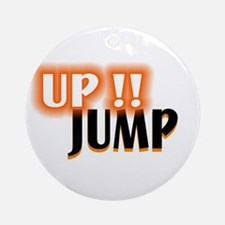 jump up Ornament (Round)