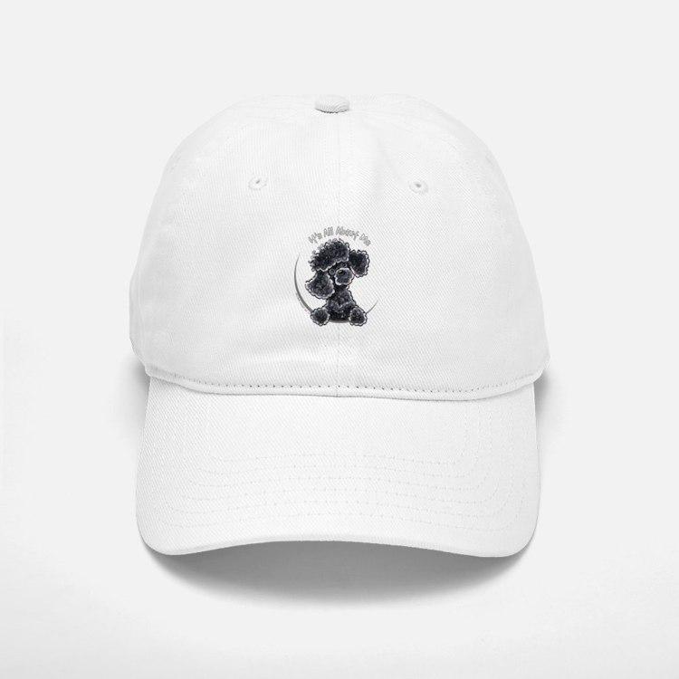 Black Poodle IAAM Full Baseball Baseball Cap