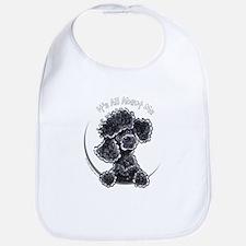 Black Poodle IAAM Full Bib