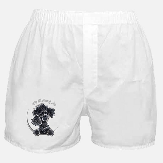 Black Poodle IAAM Full Boxer Shorts