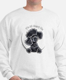 Black Poodle IAAM Full Sweatshirt