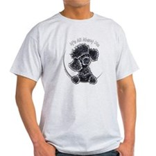 Black Poodle IAAM Full T-Shirt