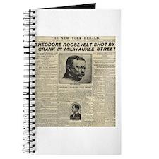 Theodore Roosevelt Shot! Journal