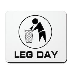 Leg Day Puke Mousepad