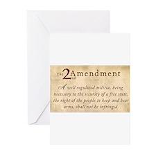 2nd Amendment Vintage Greeting Cards (Pk of 10)