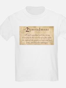 2nd Amendment Vintage T-Shirt