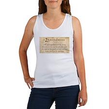 2nd Amendment Vintage Women's Tank Top
