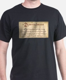 2nd Amendment Vintage T-Shirt