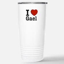 I love Gael Stainless Steel Travel Mug